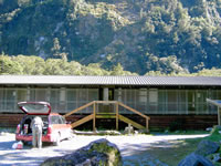 unser Hostel am Milford Sound